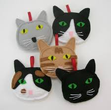 cat ornaments ready for ordering ready to ship