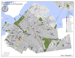 New York Map Districts by District 22 Map Participatory Budgeting In New York City