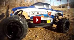 monster truck videos for redcat racing rage xt 1 5 scale gas rc monster truck