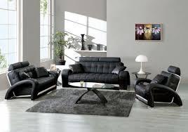 Best Living Room Sofa Sets Living Room Design With Black Leather Sofa Home Interior Design
