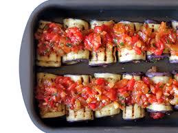 vegetable stuffed eggplant rollatini yummy addiction