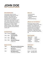 Resume Templates For Mac Getessay by Cv Examples Pdf Google Search For Volunteer Cv Template