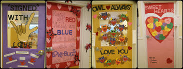 day door decorations valentines day classroom decor christmas decorating ideas for a