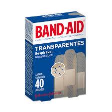 Amado Curativo Band-Aid Transparente Johnson's 40 Unidades - Drogaria  &QS71