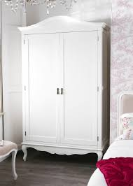 shabby chic white double wardrobe bedroom furniture direct