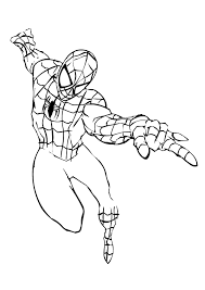 spiderman body template