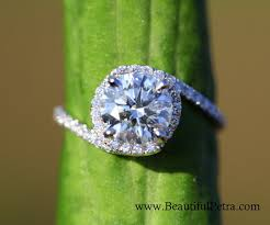swirl engagement rings 14k white gold diamond engagement ring halo unique