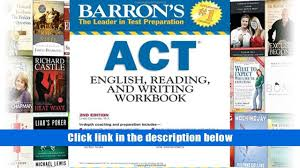 pdf download barron s act english reading and writing workbook