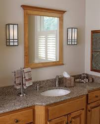 Craftsman Bathroom Lighting Prairie Style Bathroom Lighting Craftsman Bathroom Vanity Lighting
