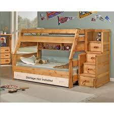 berg furniture utica loft twin over full bunk bed with wayfair