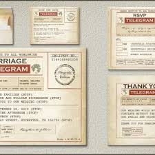 telegram wedding invitation read more vintage telegram wedding invitation wedding