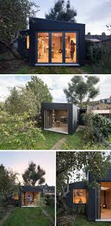 backyard architecture a modern pottery shed has been added to this british backyard