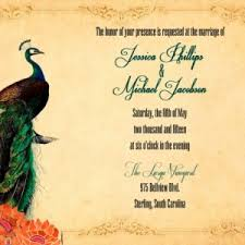 peacock invitations custom peacock wedding invitations with rsvp any color peacoc