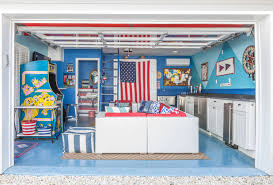 Building A Game Room - room of the day beachy garage scores a game room