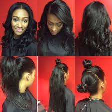 versatile vixen sew in flip method two part vixen versatile sew in weave hairstyles
