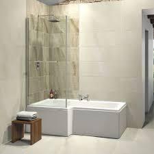 trojan elite l shape left hand shower bath 1675 x 850 elite l shape shower bath 1675 x 850 with panel screen left hand
