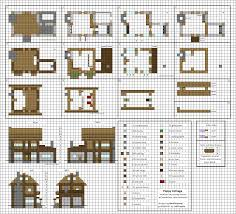 Blueprint House Plans by Poppy Cottage Medium Minecraft House Blueprints By Planetarymap