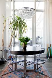 Dining Room Tables And Chairs Ikea Ikea Electic Dining Table Arctic Pear Chandelier Colourful Rug
