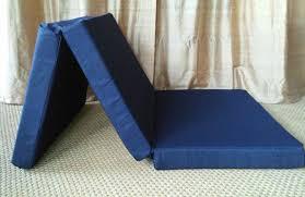 Foam Folding Bed Folding Foam Single Mat Size 4x29x75 Trifold Folding Bed