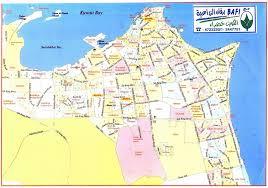 map of roads kuwait city road map kuwait city map of roads kuwait