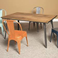 wood and metal round dining table round wooden dining table with metal legs best gallery of tables