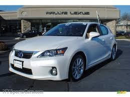 hybrid lexus ct200h 2012 lexus ct 200h hybrid premium in starfire white pearl photo 3