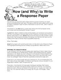 sample of reaction paper essay how to write a strong personal a reaction paper if possible put the paper aside for a day or two before doing so has the reading lecture or experience changed your way of thinking reaction paper format
