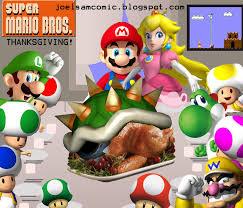 mario u thanksgiving fan by robothateseverything on