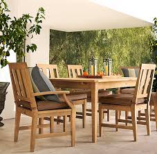 Patio Furniture And Decor by Restoration Hardware U0027s Teak Outdoor Furniture For The Home Diy