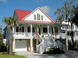 Caribbean Style House Plans Low Country Home Design Garatuz - Low country home designs
