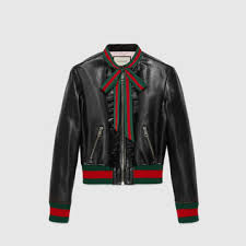 women u0027s bombers u0026 leather jackets shop gucci com