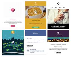 Responsive Email Template Psd we just added 6 new email templates activecampaign email