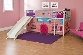 Bunk Bed With Tent At The Bottom Dhp Curtain Set For Junior Loft Bed With Princess