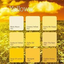 22 best color family yellows images on pinterest paint colors