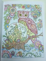 18 Best Creative Haven Owls Images On Pinterest Coloring Books Owl Coloring Ideas