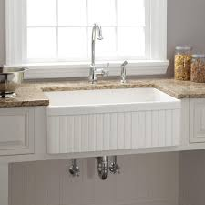 Apron Sink With Backsplash by Kitchen Sinks Vessel Sink Farmhouse Style Circular Biscuit Granite
