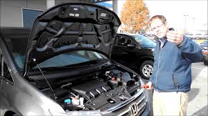 how to jumpstart a honda odyssey youtube