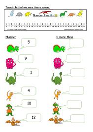 1 more 1 less worksheet by sarahdawnrees teaching resources tes