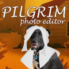 pilgrim character dress up photo editor for thanksgiving picture