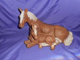 home interior horse pictures vintage 1991 homco home interior horse colt statue figure lying