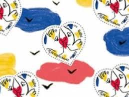 timbre poste mariage jean charles de castelbajac dessine le timbre coeur 2015 pour la