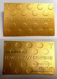 Business Card Fashion Designer Bright Gold Textured Embossed Business Card For A Fashion Designer