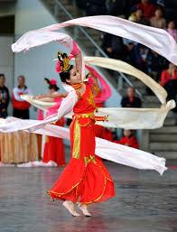 ribbon dancer asian theme