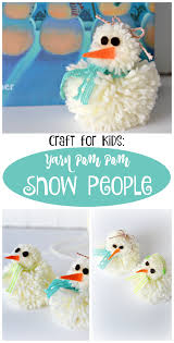 the life of jennifer dawn yarn pom pom snowman and snow woman