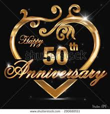 50 year wedding anniversary 50th wedding anniversary stock images royalty free images