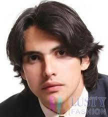mens middle parting hairstyle middle parted long layered hairstyles for men with square face
