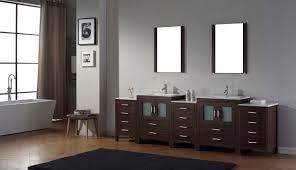 virtu usa dior 109 double bathroom vanity set in espresso