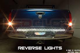 led backup light bar ledglow 60 inch tailflex truck led tailgate light bar with reverse