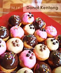 buat donat kentang mini love cooking cooking with love donat kentang super mini metode