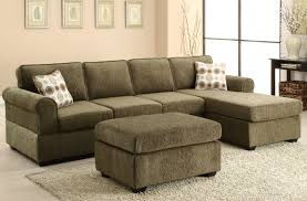 Fabric Sectional Sofas With Chaise Likable Olive Green Fabric Sectional Sofa With Chaise And With